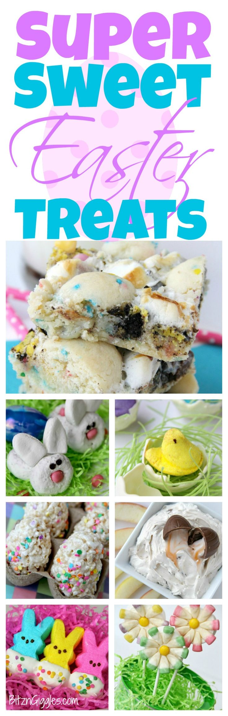Super Sweet Easter Treats - Lots of colorful and delicious sweet treats for Spring and Easter!