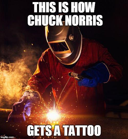 Chuck Norris tattoo