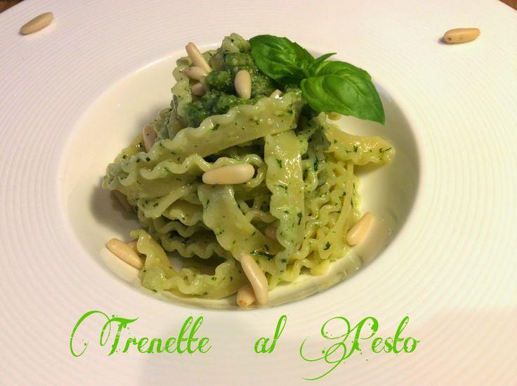 Cucinando tra le nuvole: Trenette al Pesto