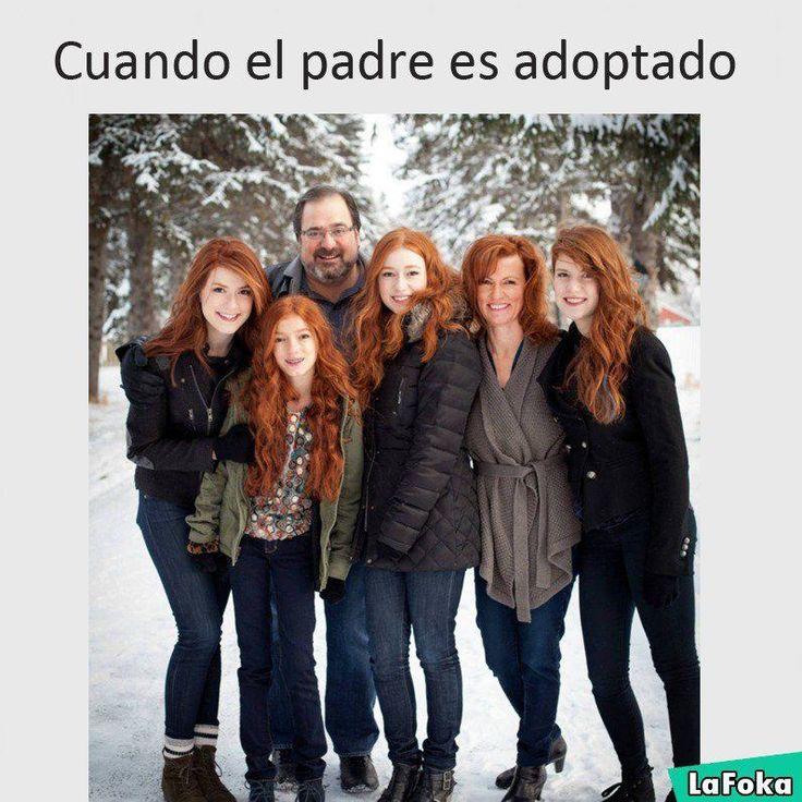 Cuando el padre es adoptado