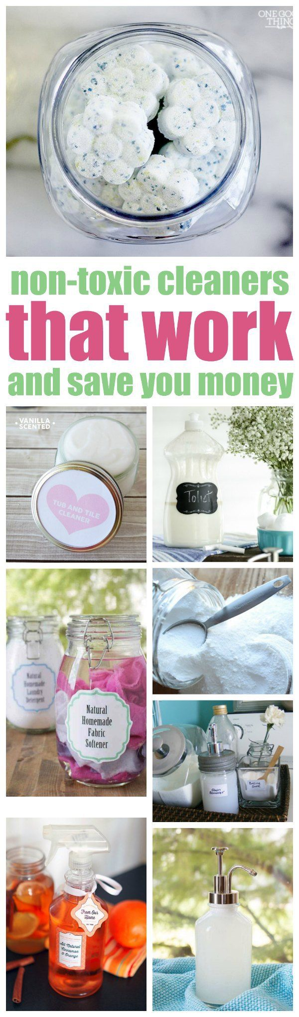 Safe cleaning products that work and save you money