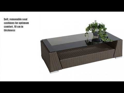 Epic TecTake Luxury Rattan Aluminium Garden Furniture Sofa http news gardencentreshopping