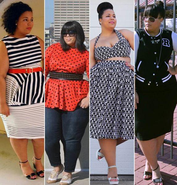 Plus Size Fashion Blogger on http://fashionbombdaily.com/