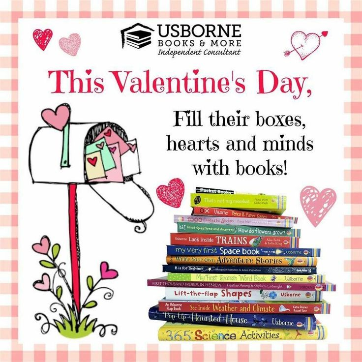 Instead of chocolates, fill their boxes with books! Purchase at retail or Host a party and earns hundreds of $$ in FREE books. Send me a message or visit my website https://h5762.myubam.com