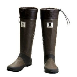 Japanese Wild Bird Society Boots.  We love these stylish rainboots that help a great cause. Style with substance.