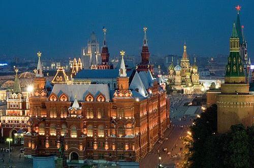 Sushi e cocktail proprio a ridosso della Piazza Rossa e del Cremlino, nel cuore della capitale russa