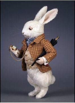 White Rabbit waistcoat & watch