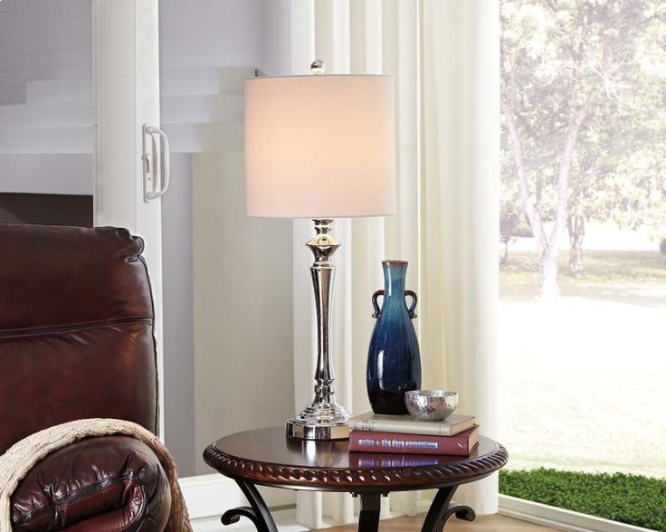 L204004 In By Ashley Furniture In Kirksville, MO   Metal Table Lamp (2/