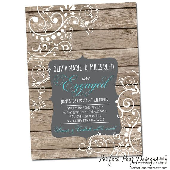 Perfect Summber BBQ 10 handpicked ideas to discover in Holidays – Engagement Party Invitations Etsy