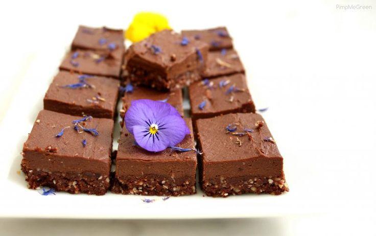 Tarte sans cuisson au cacao cru 100% végétale