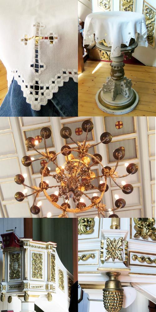 Norwegian Church Linens – Save the Stitches by Nordic Needle