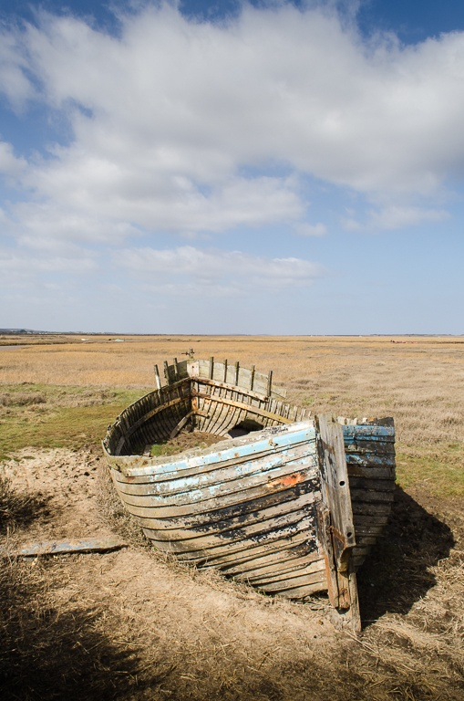 Day Three. Walking from Cley to Morston. Blakeney. North Norfolk Coast.