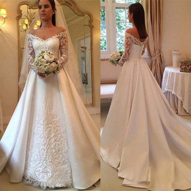 Wedding Dresses Bridal Gowns Formal Prom Gown. Plus Petite