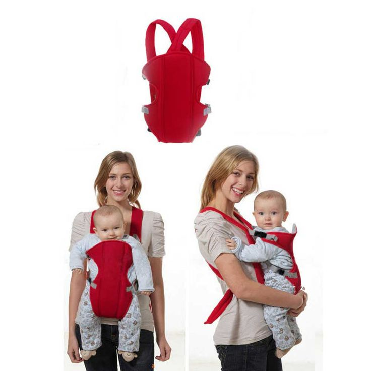 2-30M Multi Functional Vogue Breathable 3D Mesh Baby Pouch Wrap Carrier Baby Sling for Infant Babies Red Baby Carry Accesory