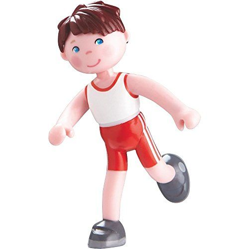 Dollhouse Décor - Haba Little Friends Bendy Doll Lukas 4 Sporty Boy Figure with Brown Hair -- Check out this great product.