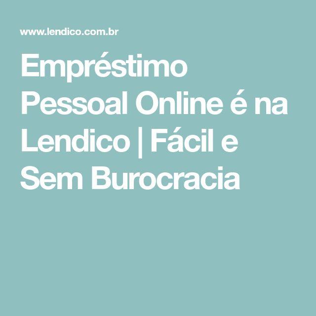 Empréstimo Pessoal Online é na Lendico   Fácil e Sem Burocracia