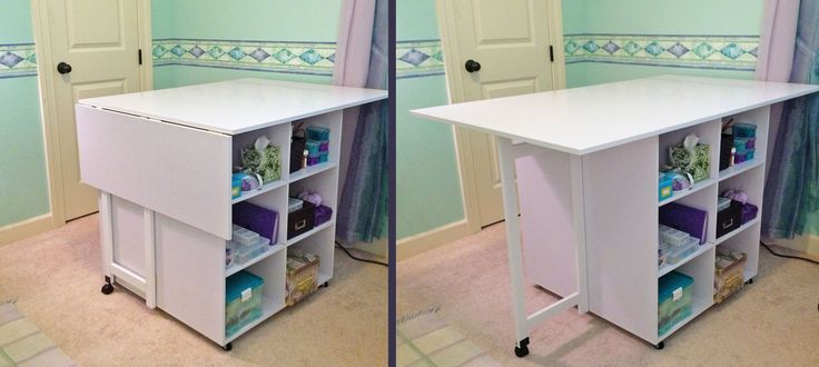 Folding Sewing Cutting Table Plans