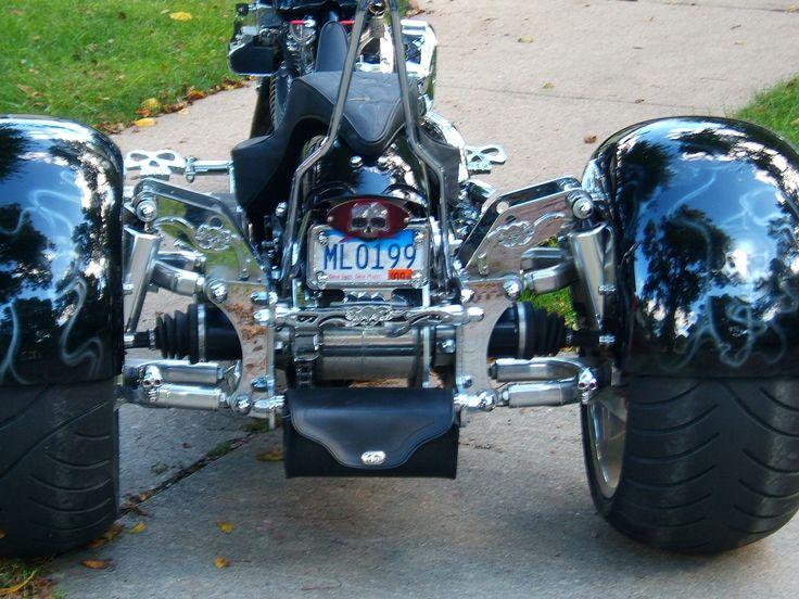 The Motor Trike Galaxy Kit Will Fit Three Star Motorcycles