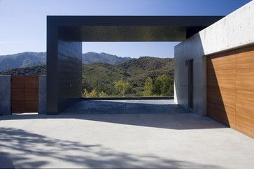 Abramson Teiger Lima Residence modern garage and shed