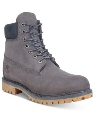 """Timberland Men's 6"""" Premium Waterproof Boots   macys.com"""