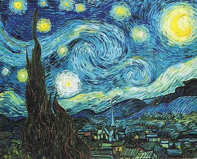 Noite Estrelada, obra do pintor holandês Vincent Van Gogh