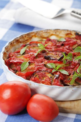 Craving some comfort food? This week's recipe, a Ratatouille with Baked Eggs, is totally new to the site. Let us know what you think of this feast for just 408 calories, dieters!