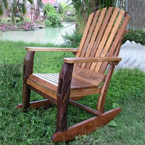 Rocking Dream Chair: Adirondack Rocking Chair