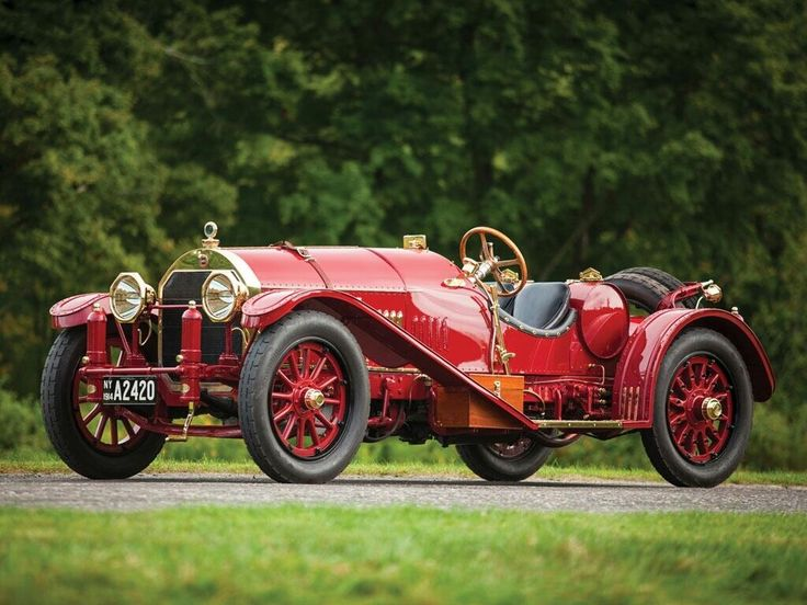 1914 Locomobile 48 Speedster - (Locomobile Company of America, Bridgeport, Connecticut 1899-1929)