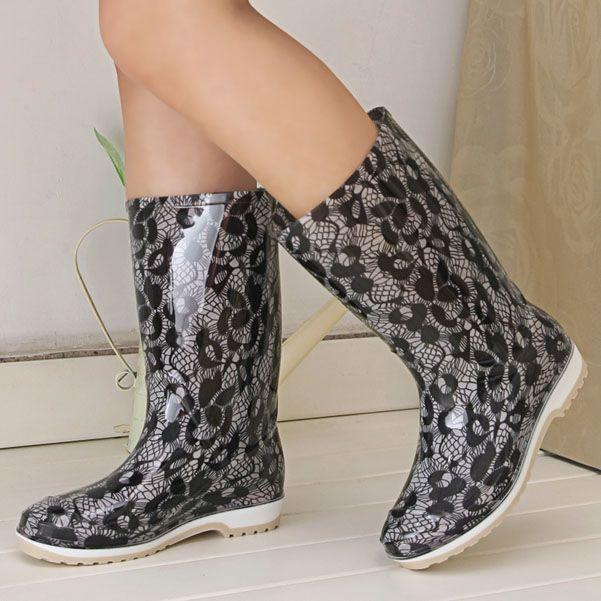 2015 новые осенние и зимние сапоги женские ботинки воды плюс бархат женщина женщины корейской моде сапоги плюс бархатные сапоги могут проскользнуть - Taobao