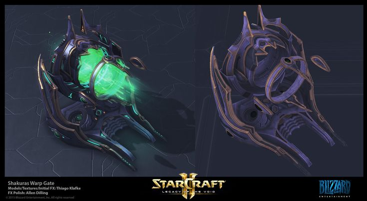 Starcraft II Protoss Work (Aiur, Shakuras & Tal'Darim), Thiago Klafke on ArtStation at https://www.artstation.com/artwork/RqRNO
