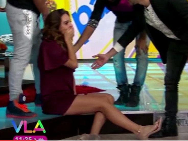 Tania Rincón se cae en transmisión de Venga la Alegría estando embarazada - Publimetro Mexico (blog)