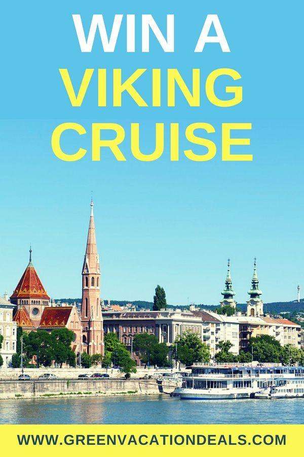 Win a Viking Cruise | Highlights from Green Vacation Deals