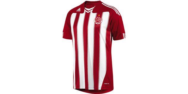 Widad Athletic Club - Adidas Home kit 2013/14