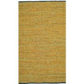 Gold Leather Matador 8`x10` Rug with Free Shipping! $149.99: Free Ships, Gold Leather, Leather Matador, Matador 8 X10, Handmade Rugs