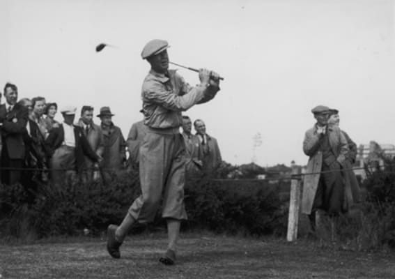 Byron Nelson, who holds the record of most consectuve PGA tournament wins at 11