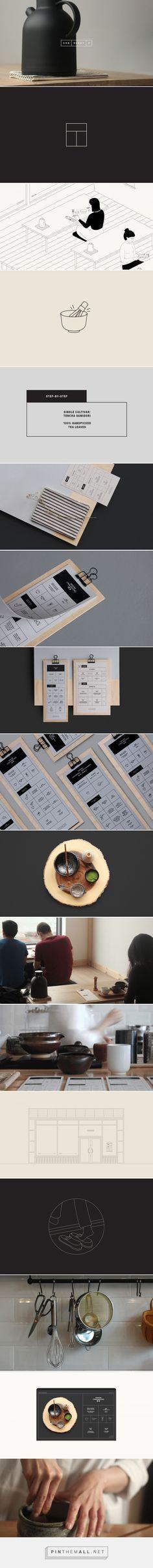 Cha.ology / Branding / Ideas / Inspiration / Brand design / Brand Identity / Logo design / Minimalist / Minilam / Restaurant / Tea / Tatami / Conceptual / Asian / Japanese / Cultural / Modern / Elegant / Clean / Geometric / Simple / Clean / White Space / Japan / Drink / Matcha /