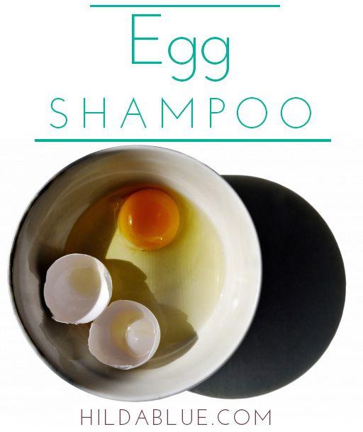 Make your own egg shampoo