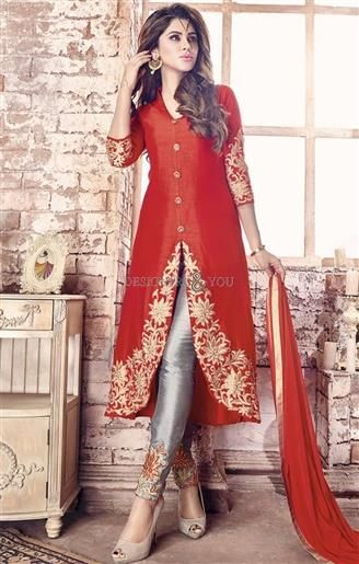 Pleasing Red Embroidered Silk Indo Western Dress For Ladies   #DesignerDresses #DesignerDressesDesigns #DesignerDressesDesigns #DesignerDressesOnline #DesignerDressesPrice #DesignerDress #DesignersAndYou #BesautifulDresses #BeautifulDesignerDresses #TrendyDesignerDresses #FashionableDresses #DesignerDressesPatterns #DesignerDressesForGirls #DesignerDressesOnline #DesignerDressForGirl