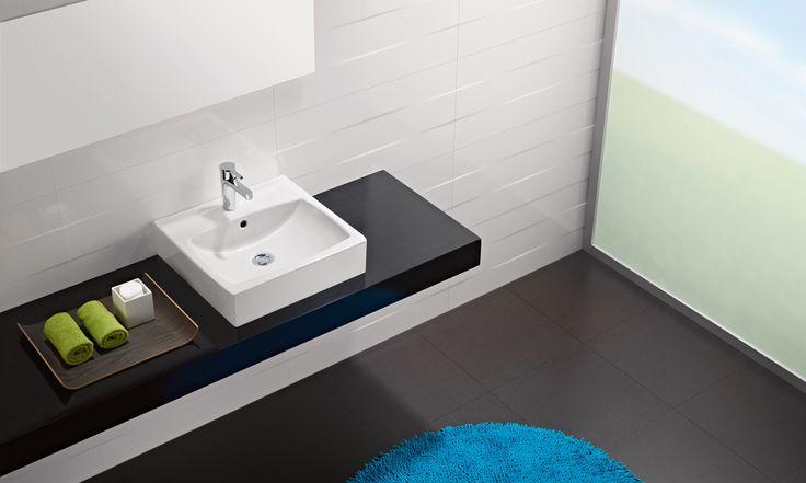 Sweet asimetr a frescura y originalidad en un amplia for Embellecedor rebosadero lavabo