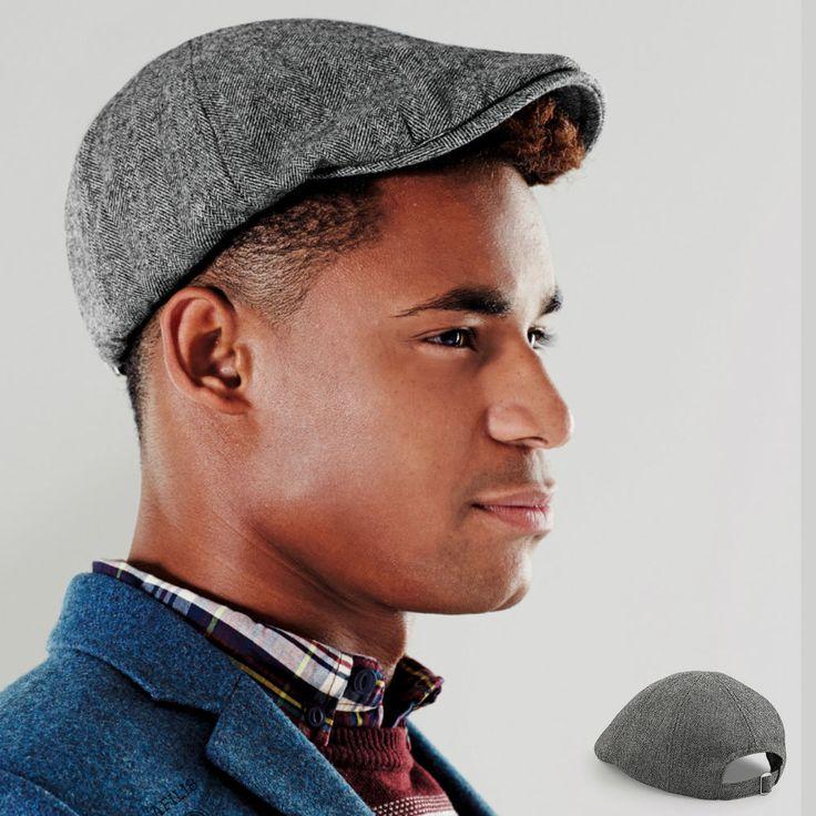 14140c89db knitted baker boy cap mens hat outlet