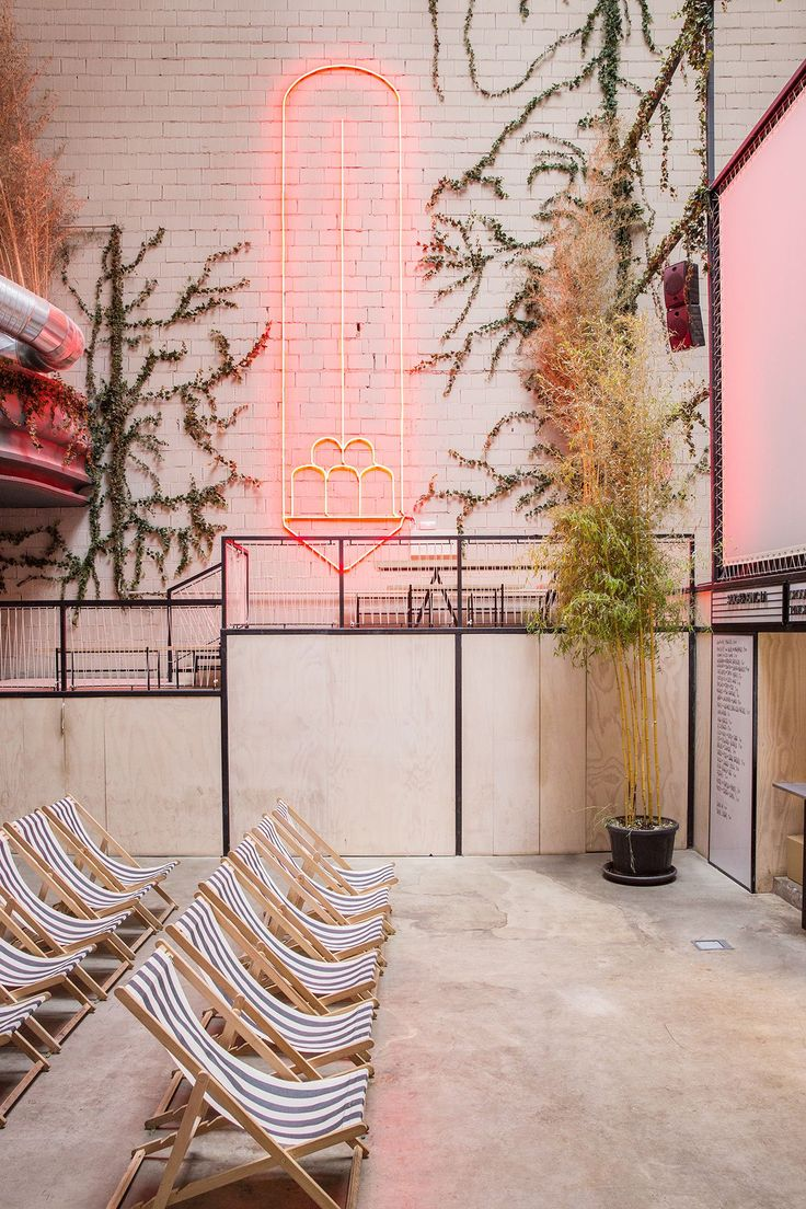 67 Best Interior Images On Pinterest Interiors Gardening And Staircase Light Installation By Pslab Yatzer Madrids Sala Equis Transforms Its Erotic Past Into Chilled Sophistication