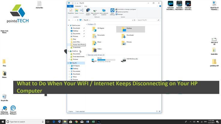 What to Do When Your WiFI / Internet Keeps Disconnecting on Your HP Computer. Nothing can be more infuriating than a spotty WiFi / Internet connection. It can bring your personal or business life to a halt. In this video we show you two possible solutions to this problem that will hopefully get you speeding down the information superhighway.  How to Test Your Internet Speed on Your HP Computer: https://www.youtube.com/watch?v=_W3pgbXckRA
