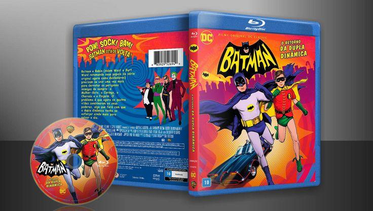 Batman - O Retorno Da Dupla Dinâmica (Blu-Ray) - Capa | VITRINE - Galeria De Capas - Designer Covers Custom | Capas & Labels Customizados