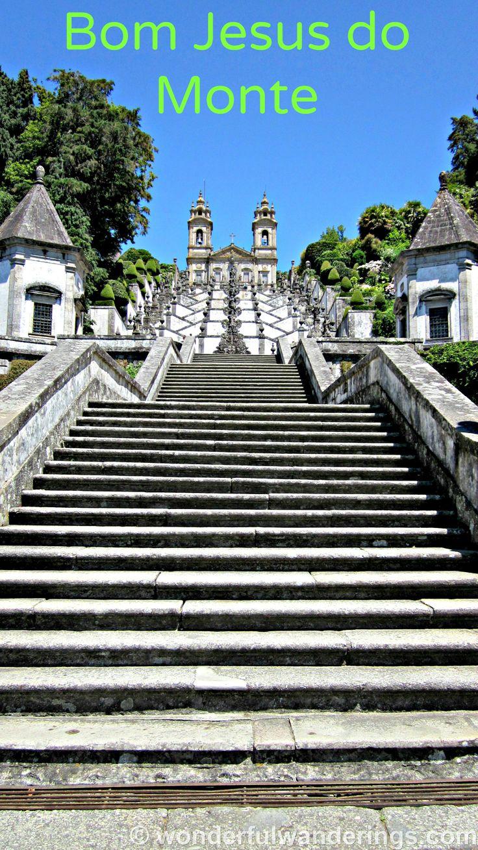 Bom Jesus do Monte, #Portugal - #travel