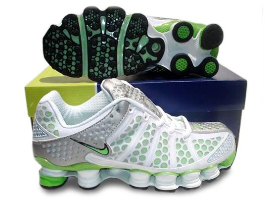 Cheap-Women-Nike-Shox-TL3-Shoes-silver-F.green | Shoes | Pinterest | Nike  shox, Women nike and Woman