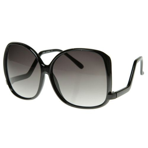 Designer Inspired Womens Large Oversized Square Low Temple Fashion Sunglasses for only $9.64 Yay!♥