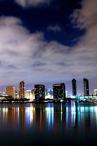 San Diego Skyline 2 Android Wallpaper HD | Android ...
