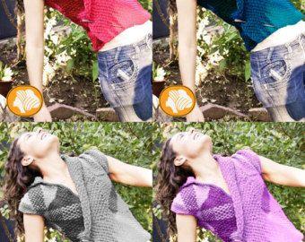 Falda multicolor esencia naturaleza por Ullvuna en Etsy