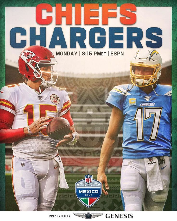 NFL The AFC West rivalry heads down to Mexico City