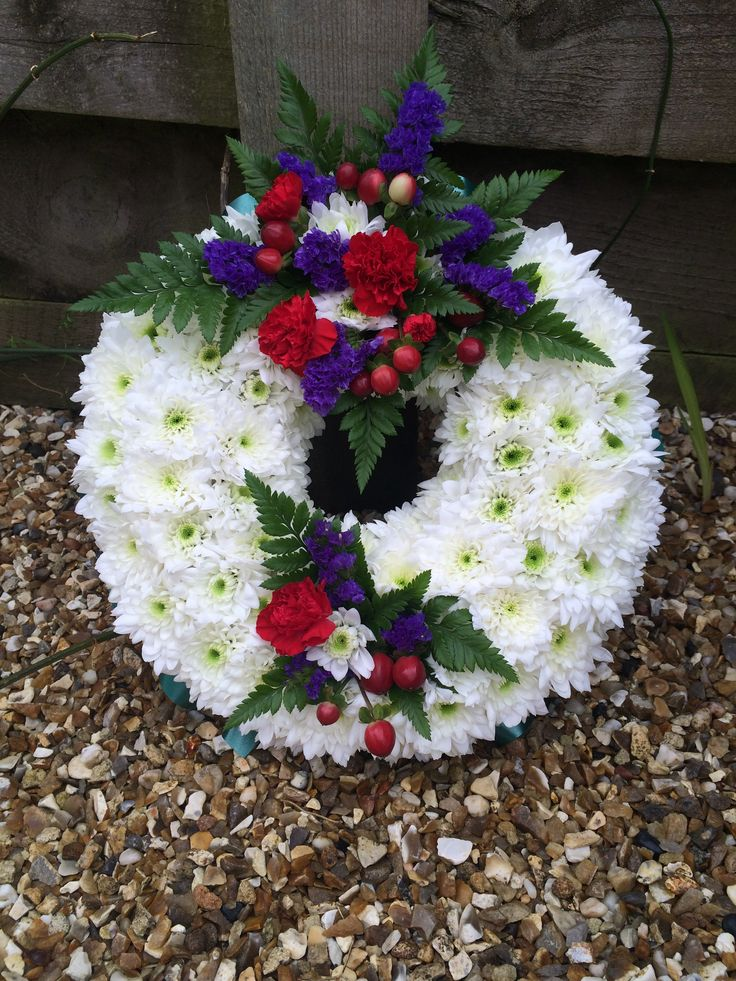 "Wreaths - starting at £25.00 for a 10"" wreath"